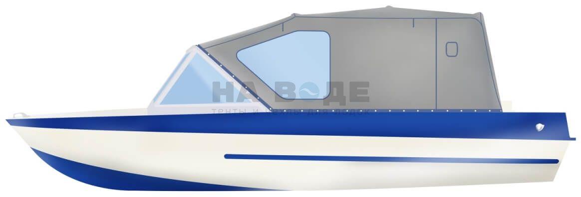 Ходовой тент на лодку Крым-М комплектация Стандарт - фото 1