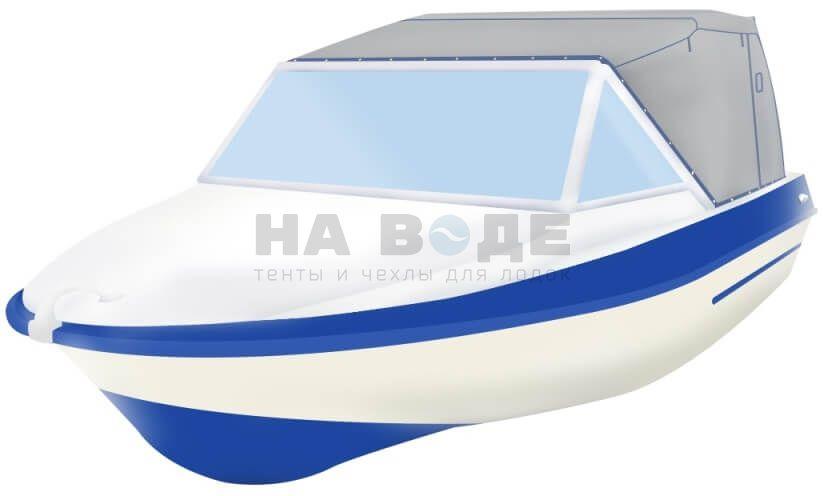 Ходовой тент на лодку Крым-М комплектация Эконом - фото 2