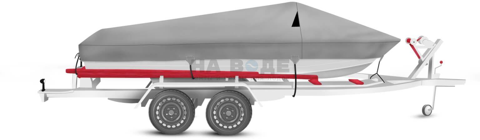 Транспортировочный тент на лодку Quintrex 475 Coast Runner комплектация Классик - фото 3