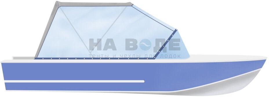 Ходовой тент на лодку Прогресс 4 комплектация Универсал - фото 1