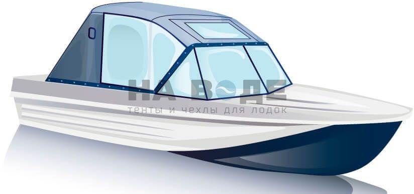 Ходовой тент на лодку Казанка-5М комплектация Капитан - фото 2