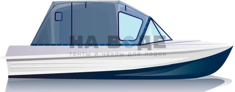 Ходовой тент на лодку Казанка-5М комплектация Стандарт - фото 1