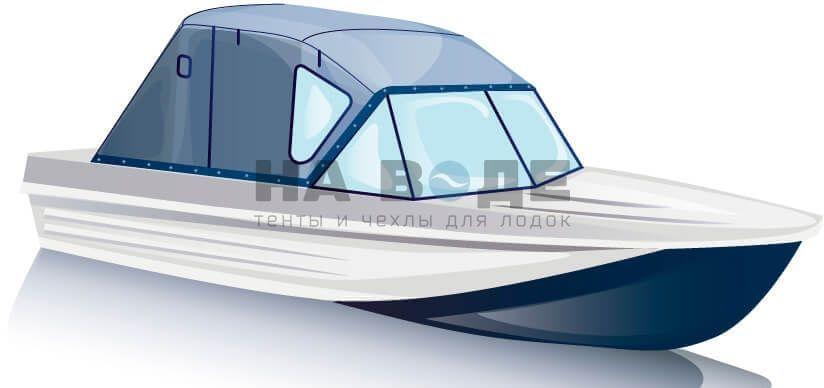 Ходовой тент на лодку Казанка-5М комплектация Стандарт - фото 2