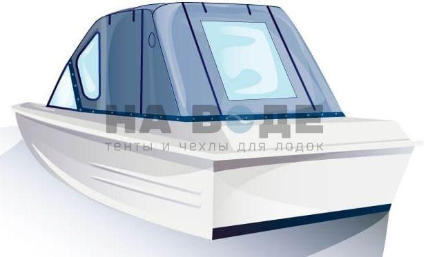 Ходовой тент на лодку Казанка-5М комплектация Стандарт - фото 3