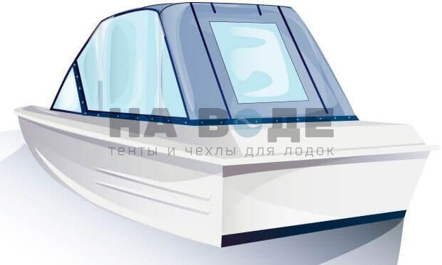Ходовой тент на лодку Казанка-5М комплектация Универсал - фото 3