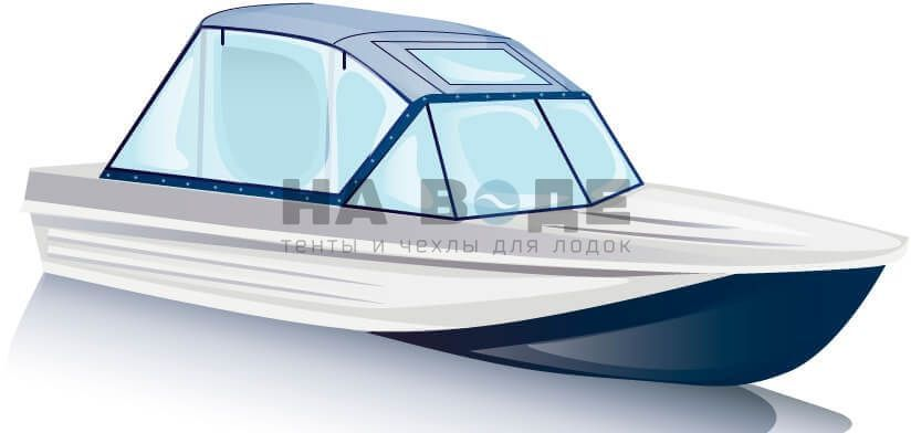 Ходовой тент на лодку Казанка-5М комплектация Универсал - фото 2