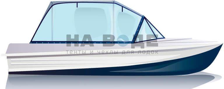 Ходовой тент на лодку Казанка-5М комплектация Универсал - фото 1