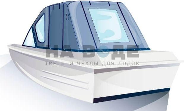 Ходовой тент на лодку Казанка-5М комплектация Комфорт - фото 3