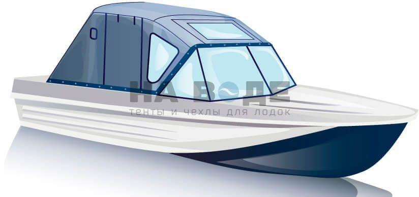 Ходовой тент на лодку Казанка-5М комплектация Комфорт - фото 2