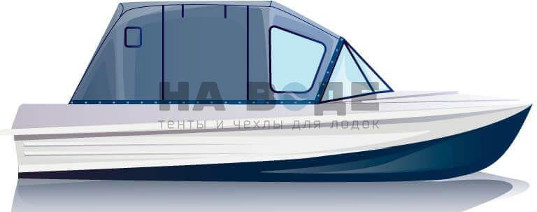 Ходовой тент на лодку Казанка-5М комплектация Комфорт - фото 1