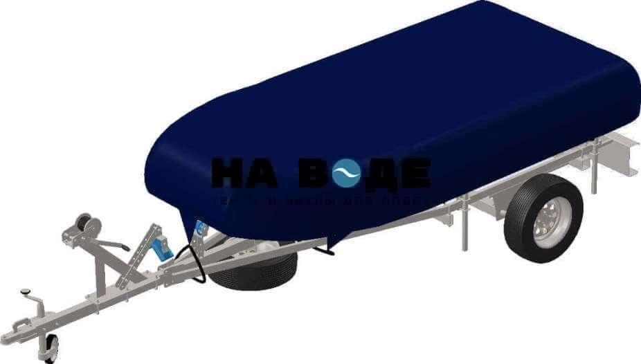 Транспортировочный тент на лодку Quicksilver (Квиксильвер) Roll-Up 240 - фото 4