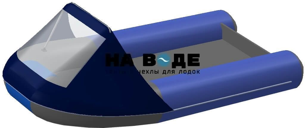 Тент носовой с окном на лодку AZIMUT (Азимут) Taifun 380 - фото 5