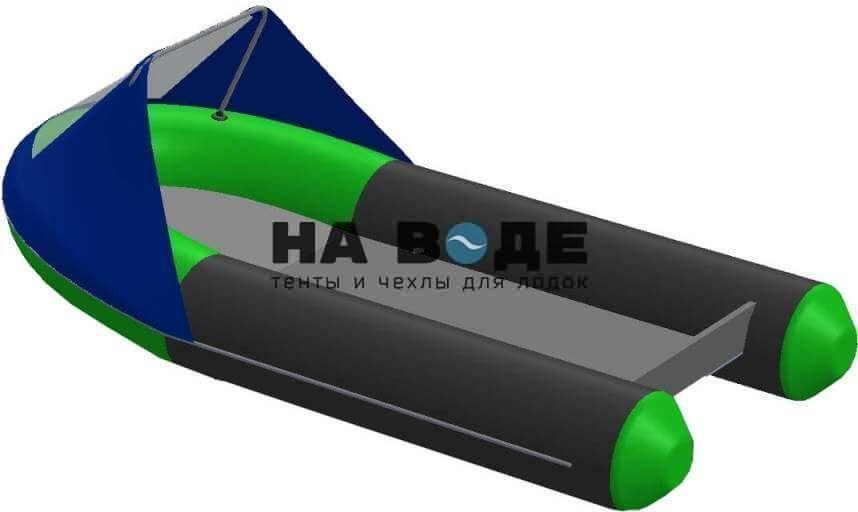 Тент носовой с окном на лодку BoatMaster (БотМастер) 250 ТA - фото 2
