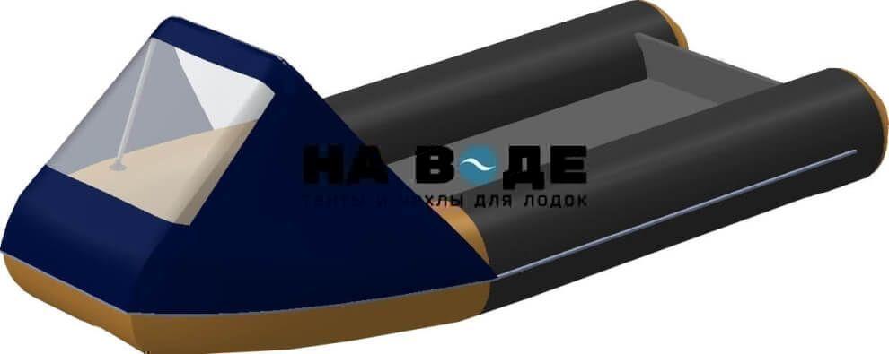 Тент носовой с окном на лодку Altair (Альтаир) ORION 550 - фото 2