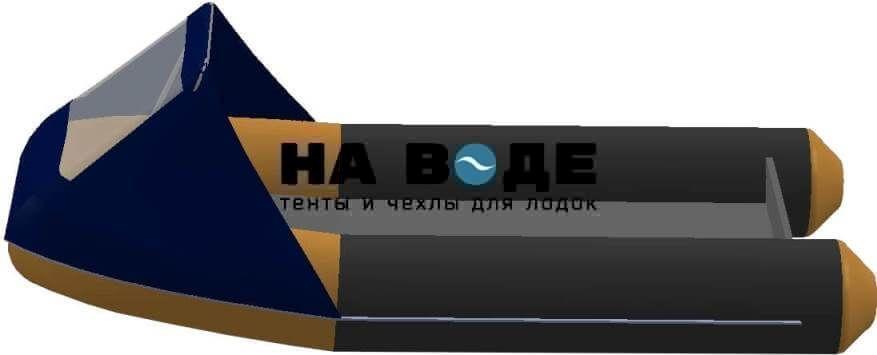 Тент носовой с окном на лодку AZIMUT (Азимут) Atlas 365 - фото 4