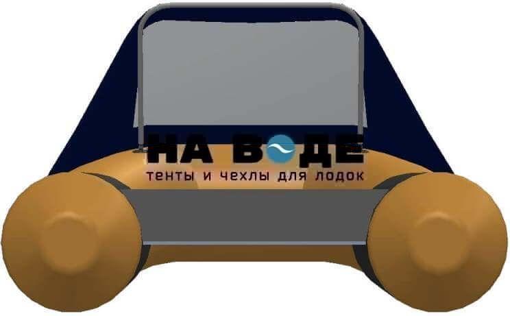Тент носовой с окном на лодку AZIMUT (Азимут) Atlas 365 - фото 5