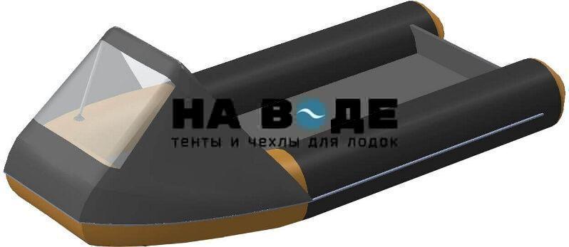 Тент носовой с окном на лодку Polar Bird (Полар Берд) 300S (SEAGULL)(«ЧАЙКА») - фото 6