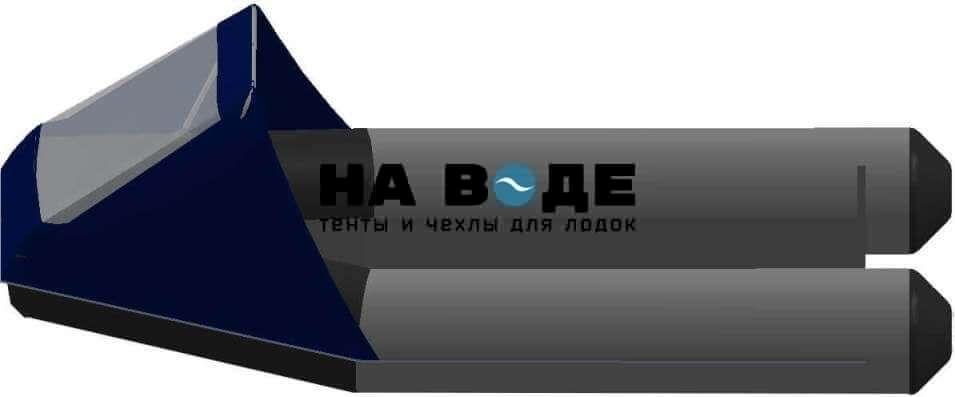 Тент носовой с окном на лодку Aqua-Storm (Аква Шторм) STM 270 - фото 2