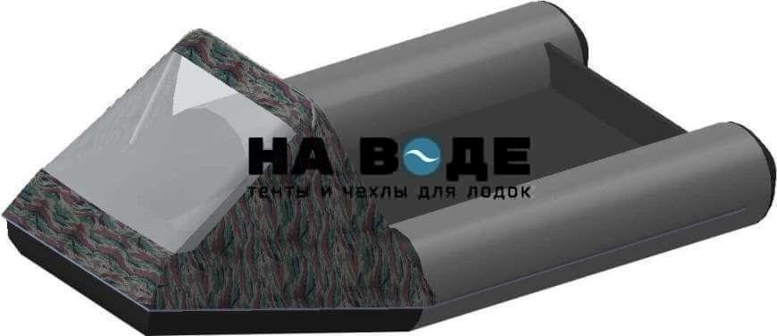 Тент носовой с окном на лодку Aqua-Storm (Аква Шторм) STM 270 - фото 3