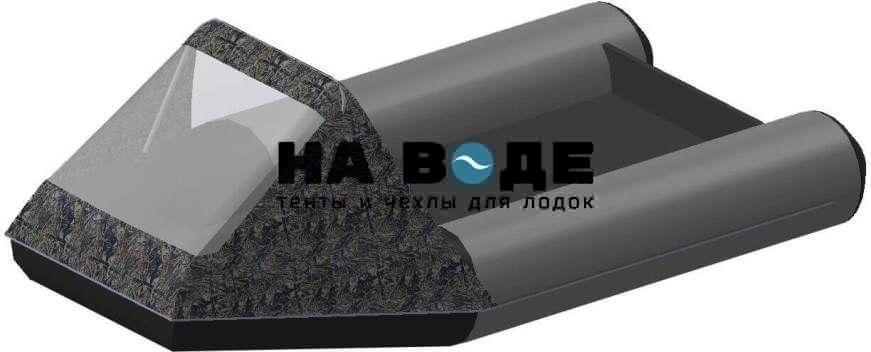 Тент носовой с окном на лодку Aqua-Storm (Аква Шторм) STM 270 - фото 8