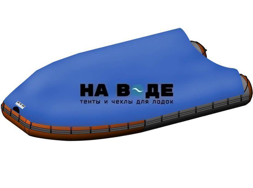 Стояночный тент на лодку Абакан-420 JET - фото 5