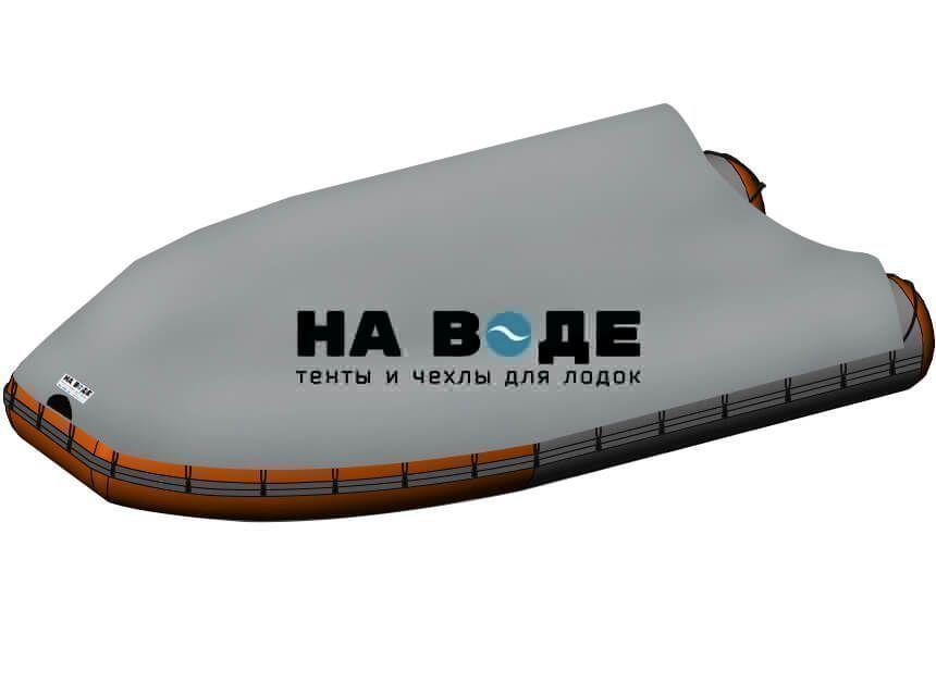 Стояночный тент на лодку Абакан-420 JET - фото 7