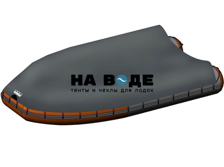 Стояночный тент на лодку Абакан-420 JET - фото 8