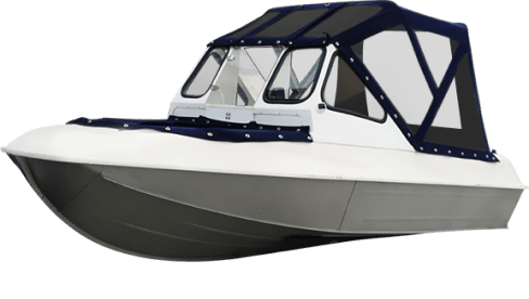 Тенты на алюминиевые лодки